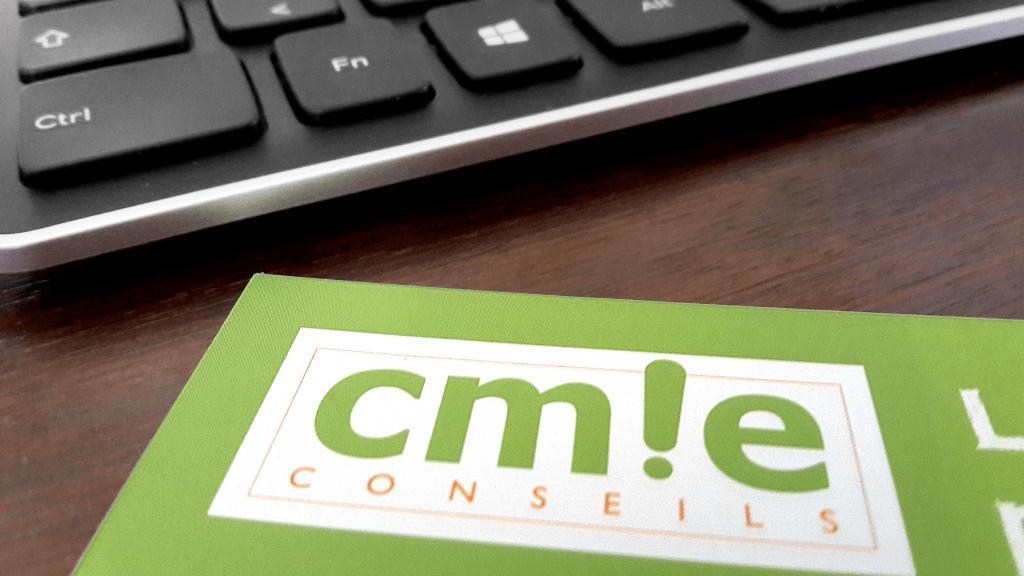 Plaquette logo CMIE Conseils