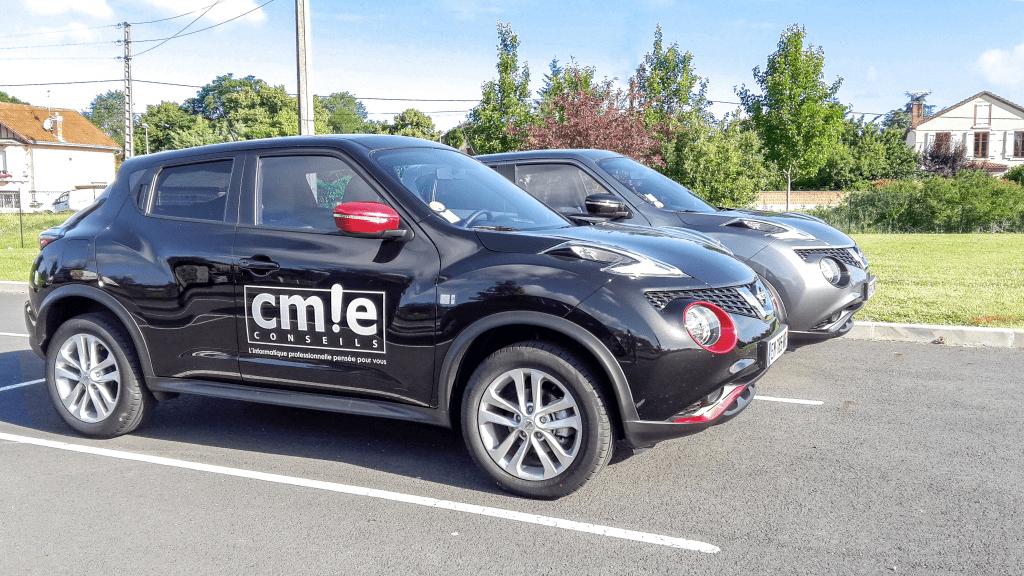 Flotte de véhicules légers CMIE