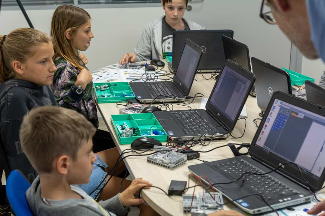 Atelier enfant d'apprentissage du code